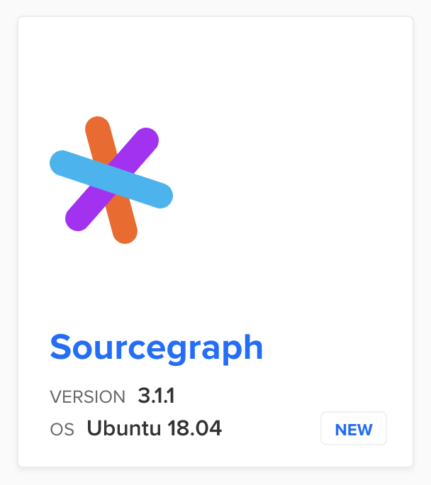 Sourcegraph one-click install available from DigitalOcean's new Marketplace