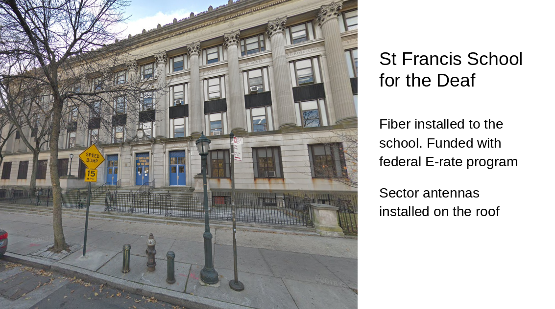 front view of St. Francis School for the Deaf