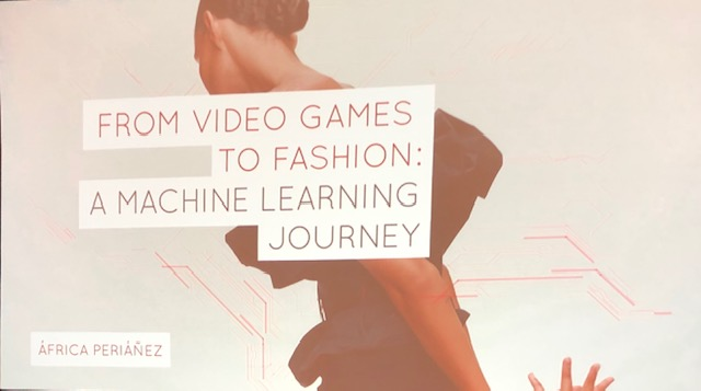 From Video Games to Fashion: a Machine Learning Journey, title slide