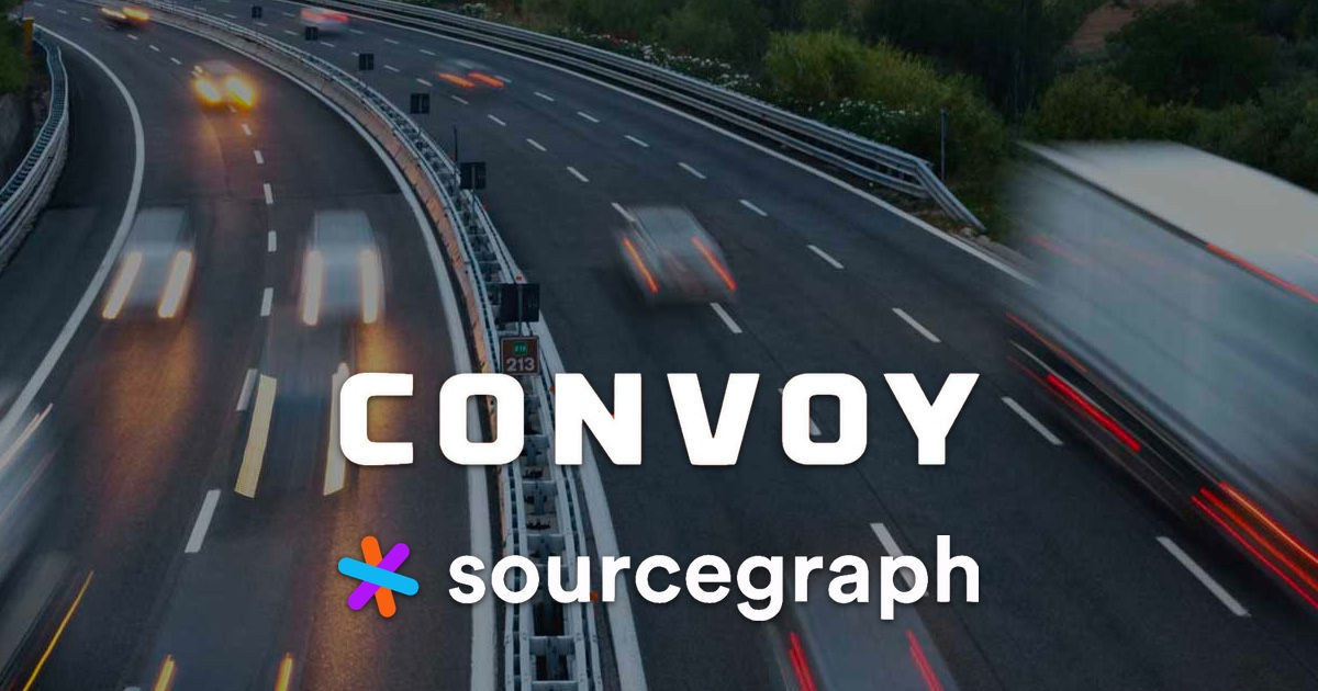 Convoy improves developer onboarding with Sourcegraph