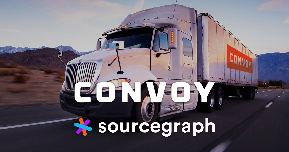 Convoy adopts Sourcegraph to improve collaboration between data scientists and software engineers
